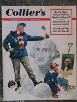 Collier's Magazine   February 21,1953   Father Of His Country  VINTAGE ADS