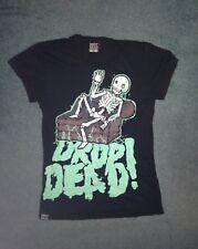 Drop Dead Skeleton T Shirt Size Small