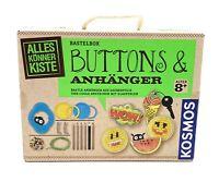 KOSMOS 604264 Buttons und Anhänger Bastelset B-Ware