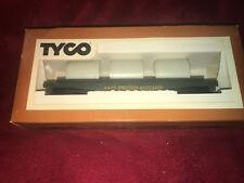 Tyco Vintage HO Scale Train Skid Flat Western Maryland Culvert Pipe Car 342B 70s