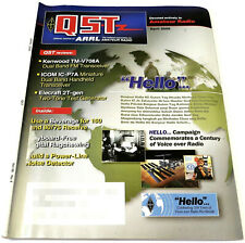 QST HAM/Amateur Radio ARRL MAGAZINE - APRIL 2006 Kenwood FM TM-V708A ICOM IC-P7A