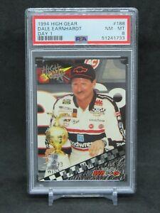 1994 HIGH GEAR RACING NASCAR DALE EARNHARDT DAY 1 #188 PSA 8 EB