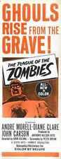 Plague Of Zombies Poster 02 Metal Sign A4 12x8 Aluminium