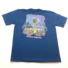 New listing Vintage Ron Jon T-Shirt Size XL Blue Mens Double Sided Surf Skate Retro Cocoa