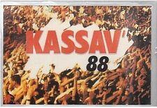 KASSAV 88 Ancien Pass De Concert Pour CBS En Fin De Spectacle (no ticket billet)