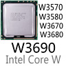 intel Xeon W3570 W3580 W3670 W3680 W3690 LGA1366 CPU Processor