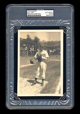 LOU TOST SIGNED PHOTO PSA/DNA SLABBED SEATTLE RAINIERS