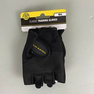 Golds Gym Classic Weight Lifting Gloves Size M/L Fits TEENS & WOMEN *BRAND NEW*