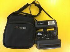 Vintage Polaroid One Step Flash 600 Instant Film Camera  With case