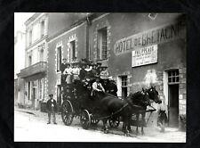 Photo : Candé :Hôtel de Bretagne , coche  ( 49 Maine et Loire )( 18 cm x 24 cm )