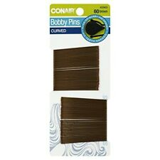 CONAIR - Styling Essentials Curved Bobby Pins Brown - 60 Pins