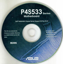 ASUS P4S533 series  Motherboard Drivers Install  M296