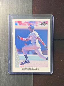 1990 Leaf Frank Thomas Rookie Card #300 MInt Chicago White Sox RC MLB FREE SHIP