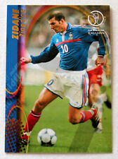 PANINI Soccer Trading Card ZINEDINE ZIDANE France No. 61 World Cup 2002 RARE!