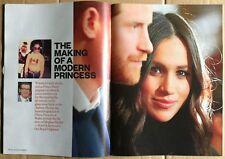 MEGHAN MARKLE-UK SunTimes Mag.1 day issue Apr'18 +MOUNT ATHOS+MAXINE PEAKE+++Ex!