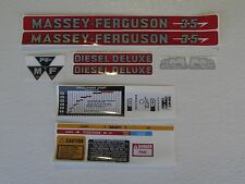 Massey Ferguson 35 decal set tractor stickers