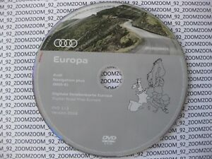 Genuine AUDI RNS-E NAVIGATION PLUS SATNAV DVD 1/3 2018 a3 a4 a6 UK France Belgium
