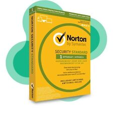 NEW Symantec Norton Internet  Security Standard 1 Device 1 Year  UK EU Version