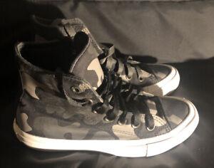 Chuck Taylor II Converse Camouflage Unisex Hi Top Sneaker 151157C  Kids 3