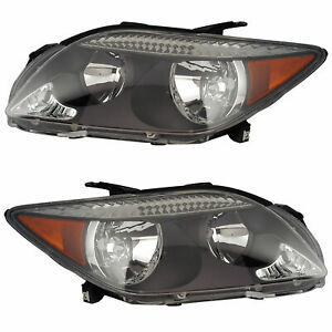 FIT FOR SCION TC 2005 2006 2007 HEADLIGHT HALOGEN RIGHT & LEFT PAIR SET