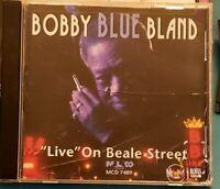 Bobby Blue Band CD Live on Beale Street
