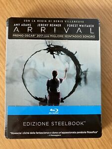 Arrival (2016) Blu-Ray STEELBOOK