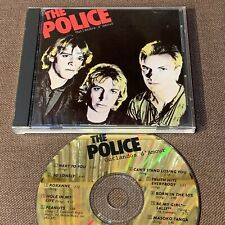 THE POLICE Outlandos D'Amour JAPAN 24k GOLD CD D33Y3401 NO INSERT Free S&H