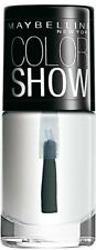 Maybelline New York Color Show Nail Enamel, Crystal Clear, 6 ml Free shipping