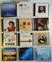 LARGE HUGE Classical CD X29 JOB LOT Classic FM, Pavarotti, Opera, Lucinda Bell