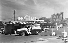 DAIRY QUEEN DRIVE-IN DILLY BAR DELIVERY TRUCK EARLY 1950'S GOOD HUMOR