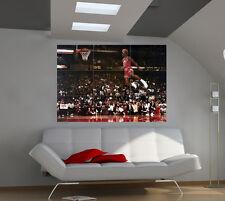 "Michael Jordan Famous Foul Line Giant Poster Wall Print 39""x57"" lx01"