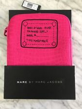 NWT Marc by Marc Jacobs Pink Croc Padded IPad Tablet Case Cover Sleeve Rare