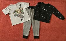 Boys Size 4T 4/5 Top Jogger Pants Sweatshirt Lot