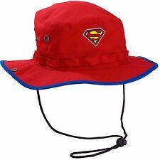 New DC Comics Superman Men's Boonie Cap Bucket Hat