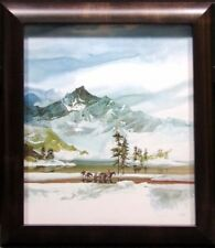 """Michael Atkinson """"Long way Home"""" Offset Lithograph with Custom Frame Hand Signed"""