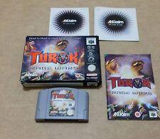 Turok Rage Wars (Nintendo 64) UK European Version PAL
