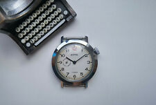 Rare Collectible USSR WATCH VOSTOK WHITE RED 12 DIAL 2403 SUB SECOND SERVICED