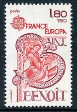 TIMBRE FRANCE NEUF N° 2086 ** CELEBRITE EUROPA / SAINT BENOIT