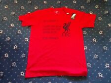 """100/% OFFICIAL LIVERPOOL FC """"BE LIKE LIVERPOOL"""" T SHIRT"""