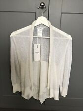 Crea Concept Fine Knit Off White Cardigan