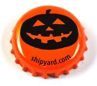 Shipyard Beer Bier Pumpkinhead Ale Kronkorken USA Soda Bottle Cap orange Kürbis