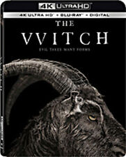 The Witch [New 4K UHD Blu-ray] With Blu-Ray, 4K Mastering, Ac-3/Dolby Digital,