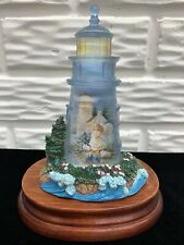"""1998 Thomas Kinkade Light of Gods Love Collection """"A Little Hope Lights the Way�"""