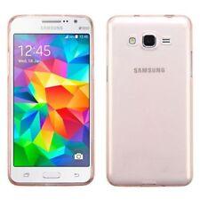 Fundas y carcasas de plástico de color principal oro para teléfonos móviles y PDAs Samsung