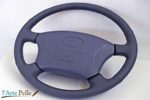Coprivolante Toyota lan Cruiser dal 1996 al 2007 Vera pelle Grigia notte