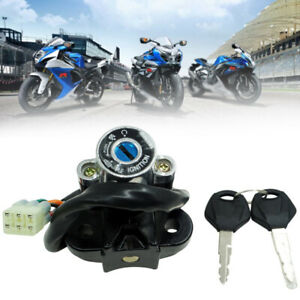 Motorcycle Modified  Lgnition Key Lock Set Kit Universal Switch
