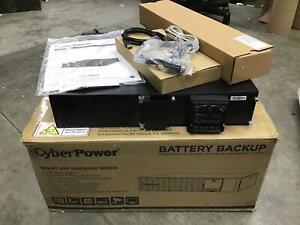 CyberPower Smart App Sinewave UPS 1500W 1500VA Battery Backup READ PR1500RT2U