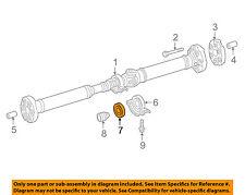 MERCEDES OEM 10-16 E350 Rear-Center Bearing 0089814325