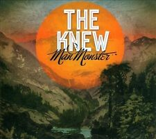 Man Monster [Digipak] by The Knew (CD) New Sealed Ships 1st Class Digipak