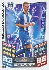 N°359 CALLUM McMANAMAN WIGAN.FC TRADING CARD MATCH ATTAX TOPPS 2013